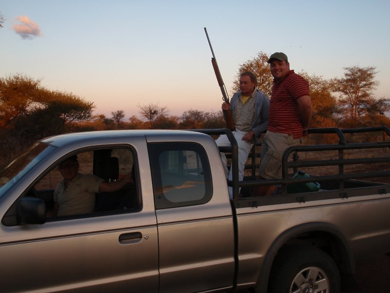 The boys in the bakkie