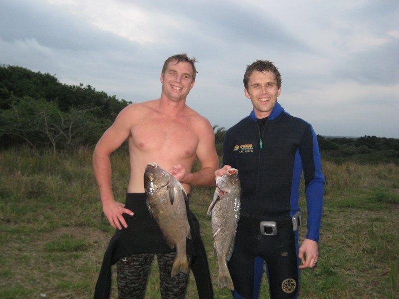 Rob and Chris Fish