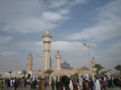 Grand Mosquee during the Grand Magal