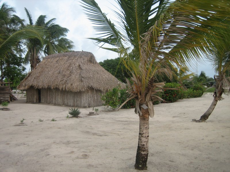 Village of Awala-Yalimopo near Plage Les Hattes