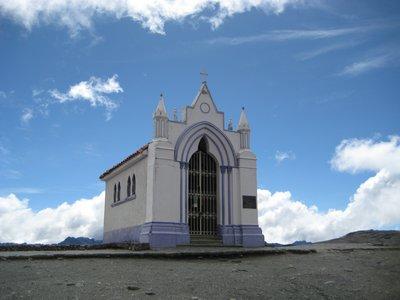 Venezuela kõrgeimal asuv pühakoda