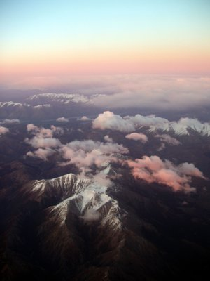 Southern Alps from the plane