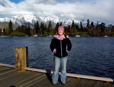 On the boardwalk in Queenstown