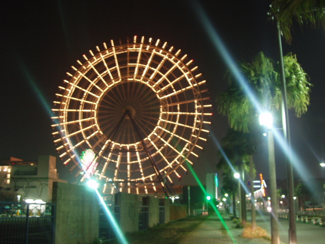 Huge Ferris Wheel in Fukuoka