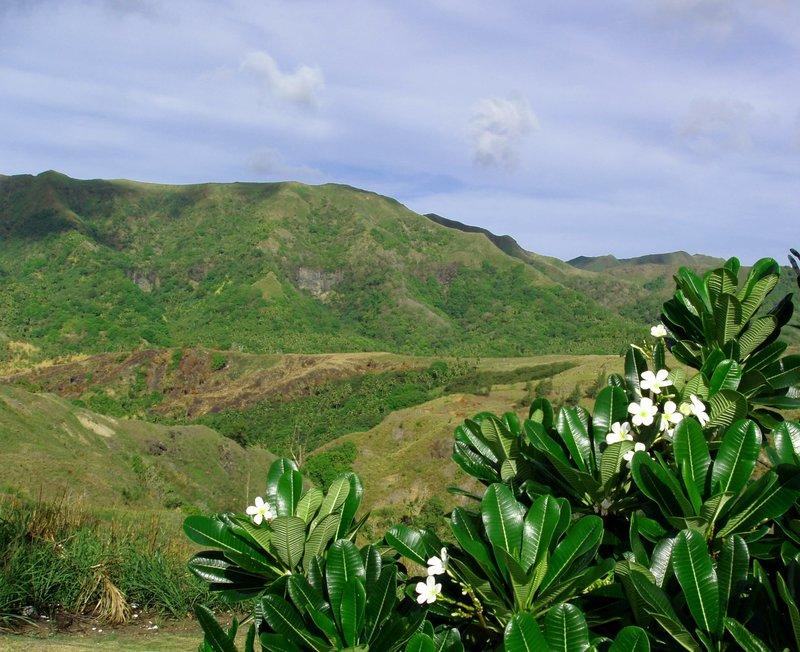 Guam mountains