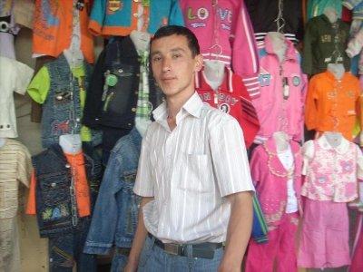 Abdufatto Ganiev, Tajikistan.  Photo Courtesy of Kiva.org