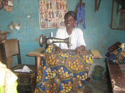 Toyin Ayoola, Nigeria.  Photo Courtesy of Kiva.org