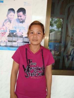 Vith Chanthy, Cambodia  Photo Courtesy of Kiva.org