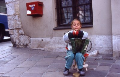Little Accordion Player (Sept, 1999), Photo Courtesy of Randy Martens Photography