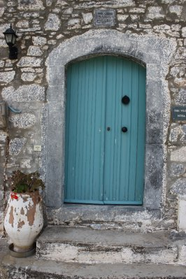Blue Door in Elounda, Crete