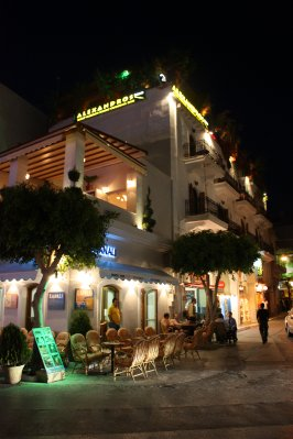 Agios Nikolaos, Crete at Night