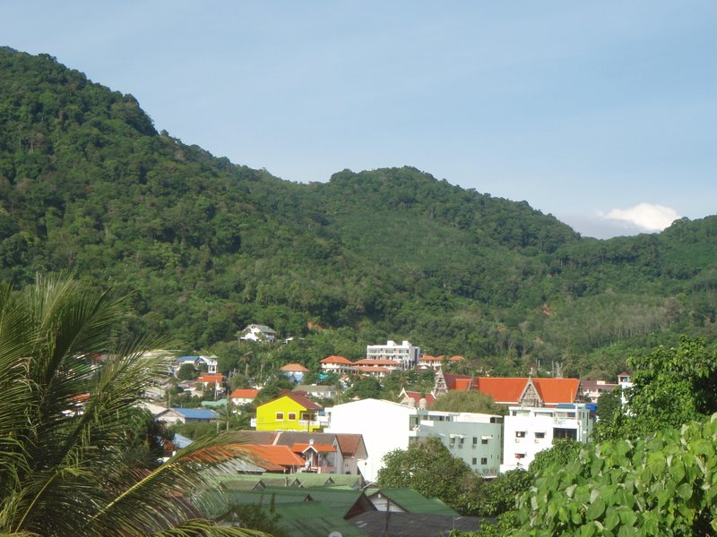 Hills at Karon Beach