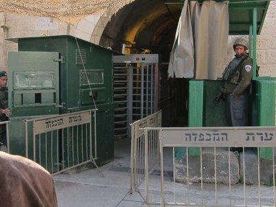 Entering H2 Hebron