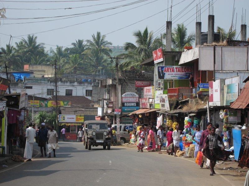 Road to Kumarakom