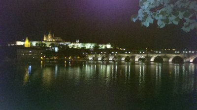 Night on the Charles Bridge