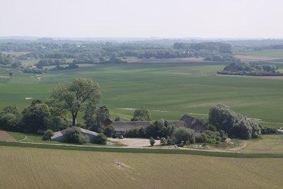 Waterloo, A farmhouse