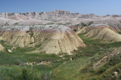 A Drive thru the Badlands