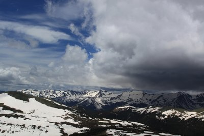 The Top of the World in the Rockies
