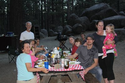 Last Dinner at Grover Hot Springs