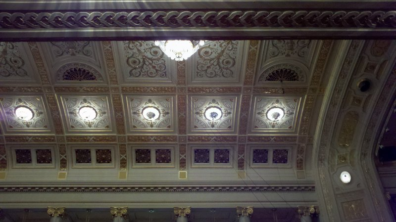 Ceiling of the Vienna Music Hall