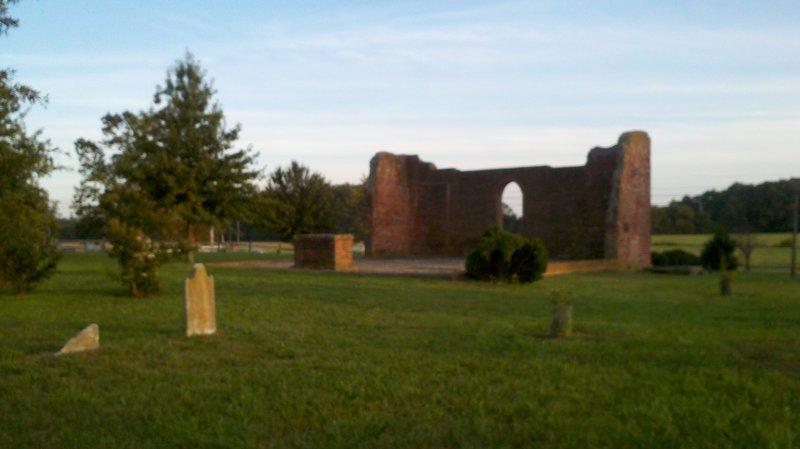 Old White Marsh Cemetery