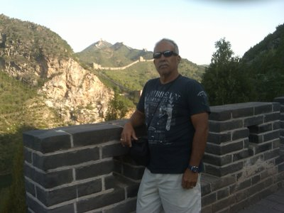 walk up to the Great Wall