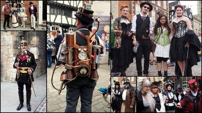 Lincoln Steampunk 2015