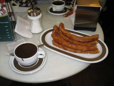 Chocolate &#38; Churros