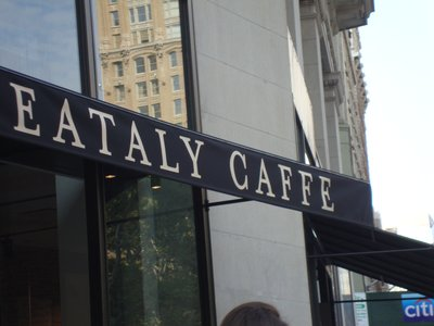 EATALY CAFE FIFTH AVE