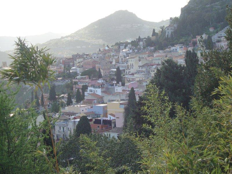 A view of Casa Cuseni