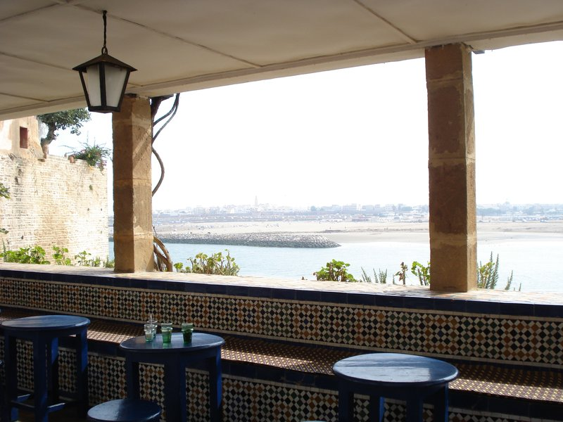 Rabat view from cafe