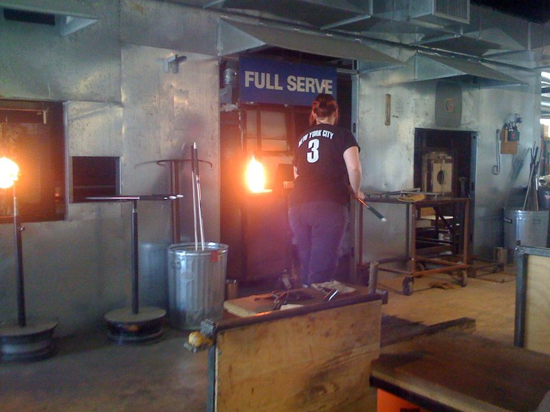 Firing the Glass