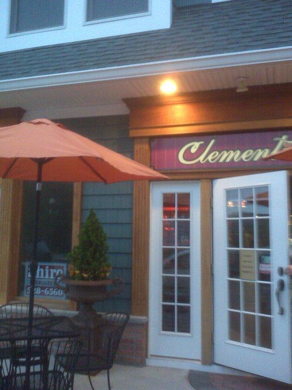 Clementine's patio
