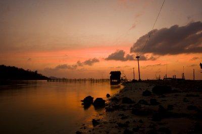 Bye bye Thai sunsets