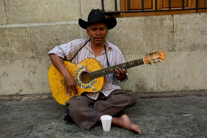 Oaxacan guitarist