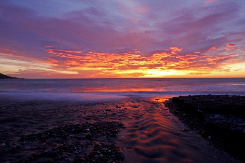 Sunrise near Kaikora