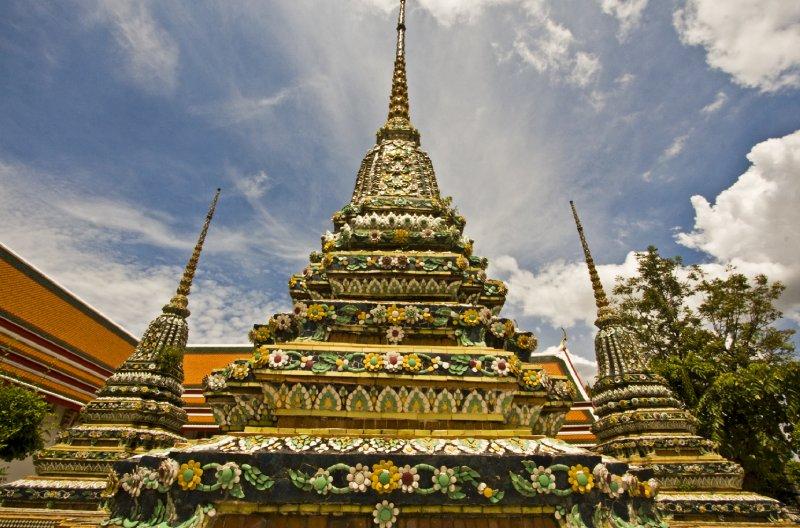 Wat Pho spires