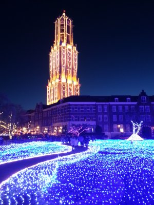 Flower Garden at Huis Ten Bosch