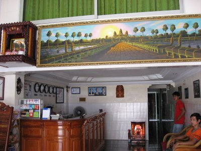 Fancy Guesthouse at Phnom Penh