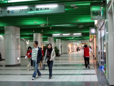 East Metro Mall - underground mall between 2 MRT stations