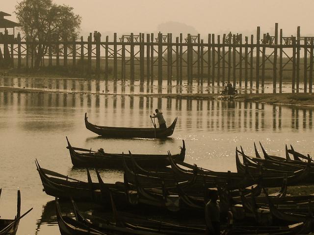 Teak Bridge, Burma