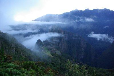 Ranni rozbresk na Machu Picchu