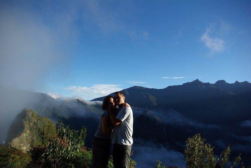 Hrdlicky na Machu Picchu