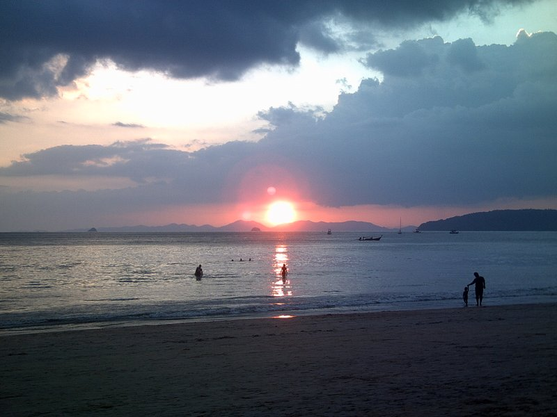 Sunset over Krabi