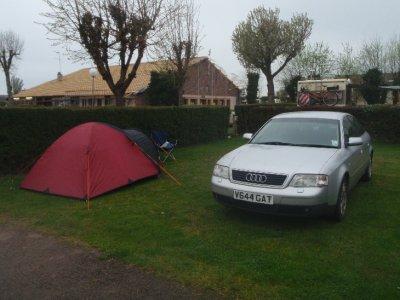 Camping near Honfleur