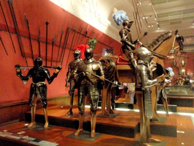 Armour at the Kelvingrove Museum