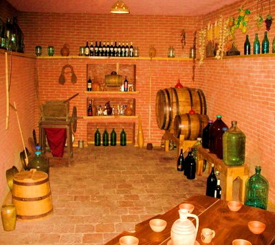 Georgian House wine cellar