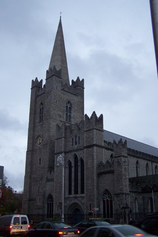 Oct 30 - Ireland - Dublin - Christ Church Cathedral