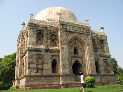 Royal tomb in Lodhi Gardens