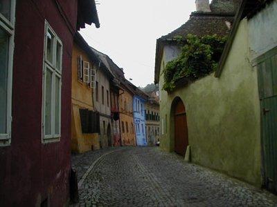 Transylvanian medieval village